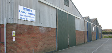 exterior of shop